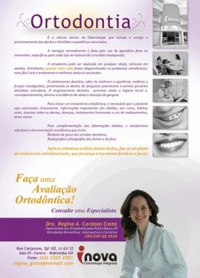 Propaganda revista - Dra. Regina Costa