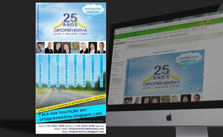 Email Marketing - Encontro 25 anos Orto Preventiva
