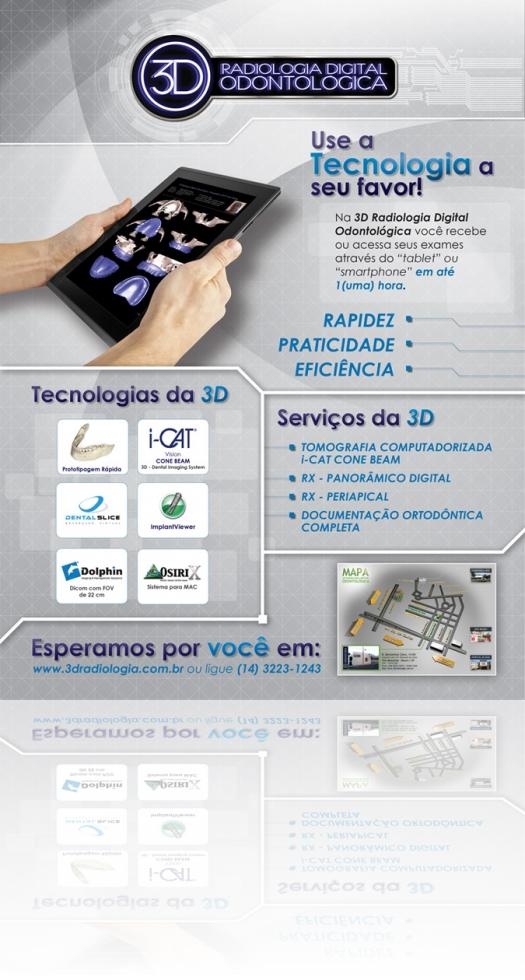 Banner Institucional - 3D Radiologia Digital Odontológica