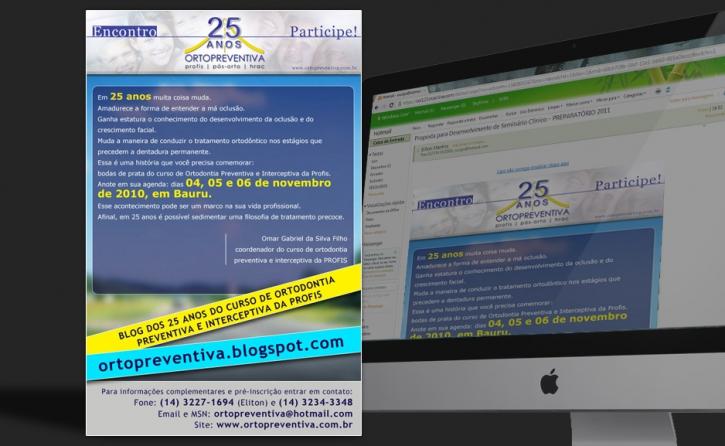 Email Marketing - Inscrições - Encontro 25 anos Orto Preventiva