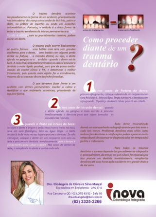 Propaganda revista – Dra. Elisângela Marçal