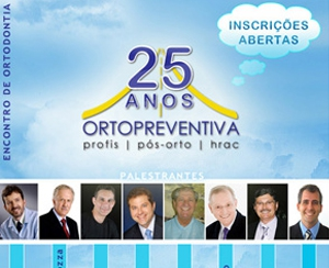 Email Marketing - Encontro 25 anos Orto Preventiva