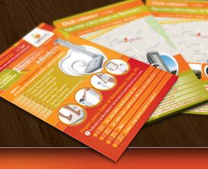 Flyer + Cartão de Visita | Nutricentro