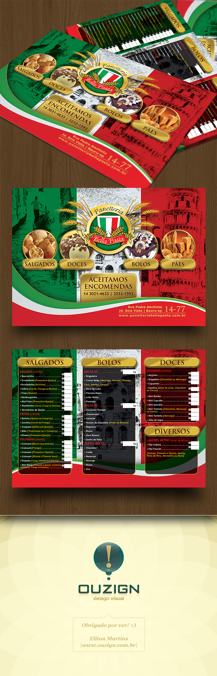 Flyer Panetteria Bella Pasta