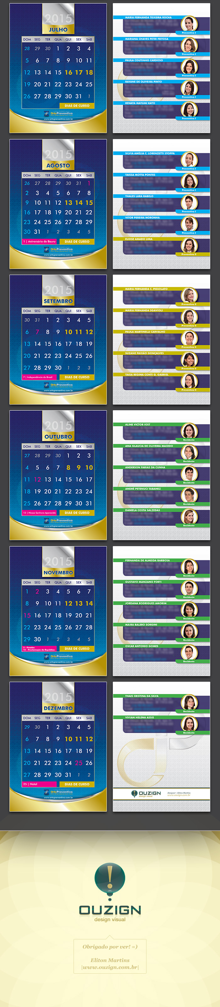 Calendário de Mesa Orto Preventiva 2015 - Turma 2014 (3)