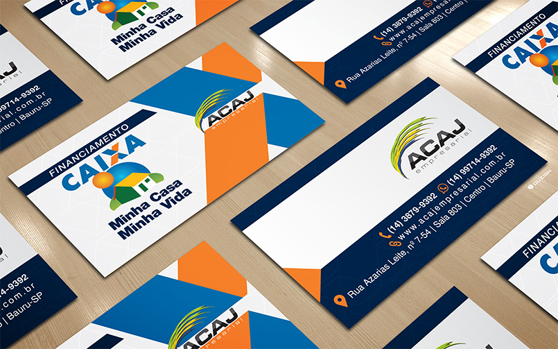 Cartão de Visita | ACAJ - Empresarial Bauru