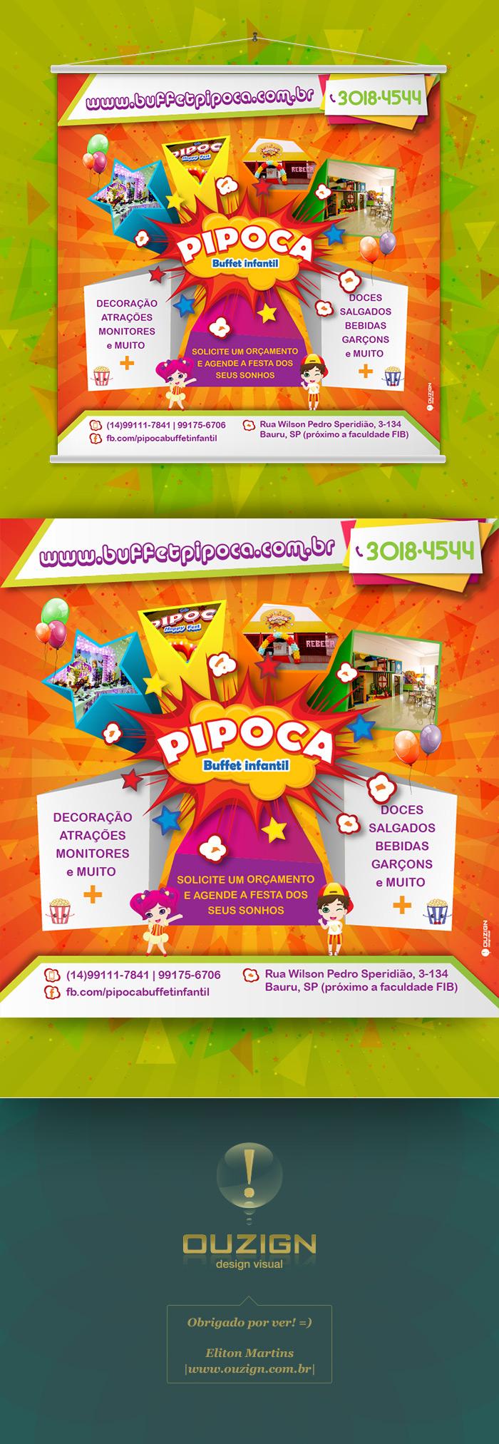 Banner | Pipoca - Buffet Infantil (3)