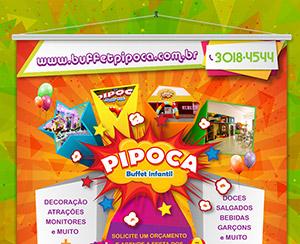 Banner | Pipoca - Buffet Infantil (1)