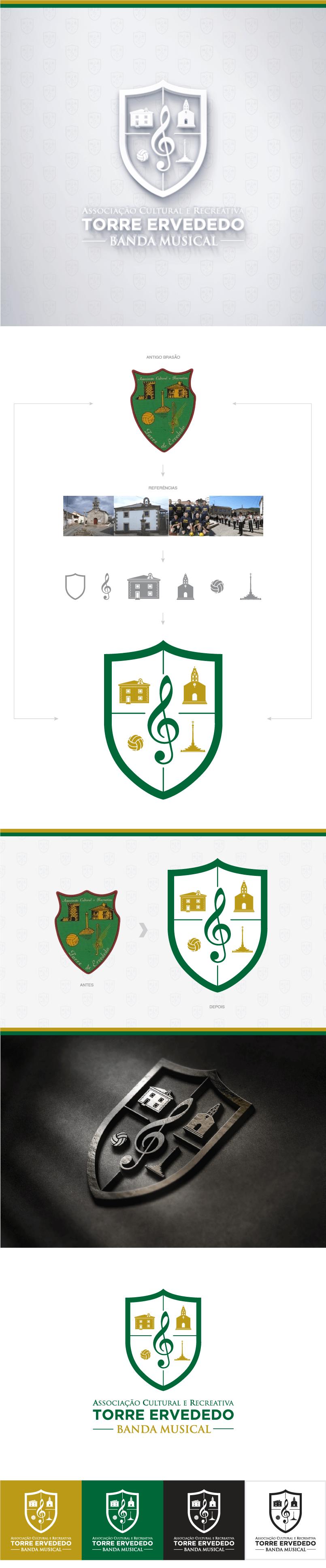 Associação Cultural Recreativa - Torre Ervededo - Logotipo